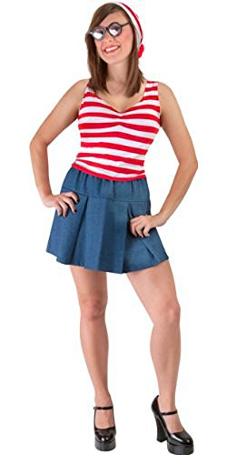 Sexy Waldo Dress Costumes (Sexy Where is She Costume (Small 6-8))
