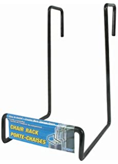 Camco Heavy Duty Chair Rack  Hook On RV Ladder To Support Folding Chairs,  Picnic