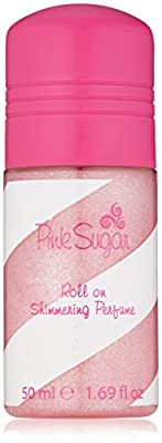 Pink Sugar Roll On Shimmering Perfume, Pink, 1.69 fl. oz.
