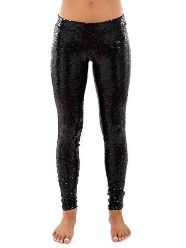 Tipsy Elves TE WP118 Sequin Leggings product image