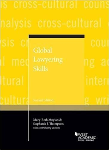 Global Lawyering Skills, 2nd edition cover image