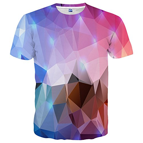 Neemanndy Unisex Classic Print Graphic Design Cool Shirt Summer Short Sleeve Tops for Men Women, X-Large (Shirts Graphic Designs)