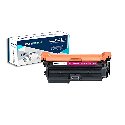 LCL Compatible for HP 648A CE263A (1-Pack Magenta) Toner Cartridge for HP Color laserJet CP4025 CP4525dn CP4525n