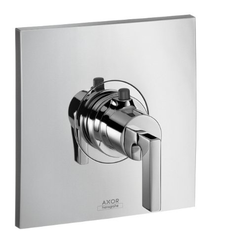 Hansgrohe HG39385001 Axor Citterio EcoStat Thermostatic Valve Trim, (Hansgrohe Thermostatic Mixer)