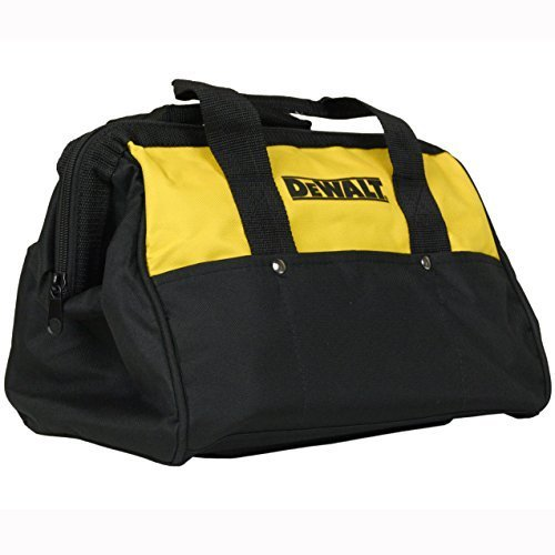 "Dewalt 13"" Mini Heavy Duty Contractor Tool Bag in Retail Packaging"