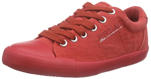 s.Oliver Unisex-Kinder 43109 Sneakers Rot (RED 500)