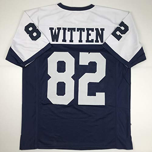 Unsigned Jason Witten Dallas Thanksgiving Day Custom Stitched Football Jersey Size Men's XL New No ()