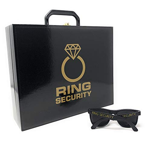 Canary Collections Ring Security Case and Sunglasses