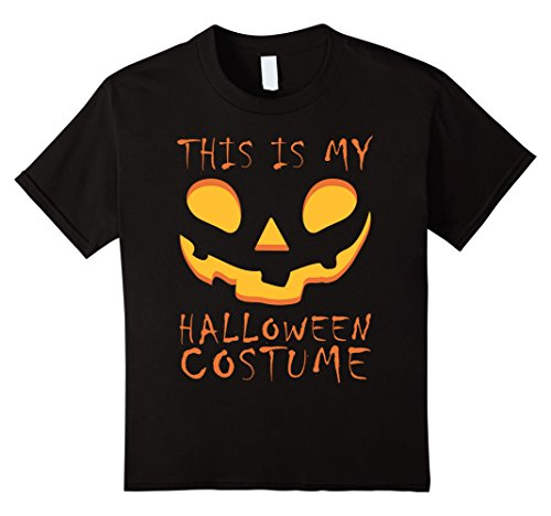 Pumpkin Face Halloween Costume Tee