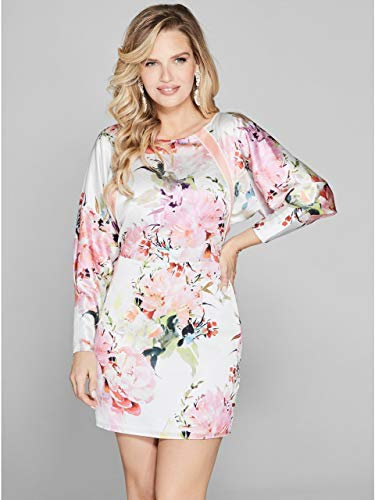 Abito Marciano Donna Guess By Mod 92g826 9043z Fiori 76bYgfy