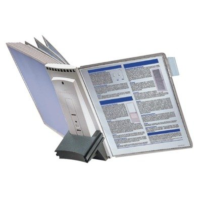 Durable Sherpa Desk Reference System Extension Set, Gray (DBL569810) by Durable Durable Sherpa Desk