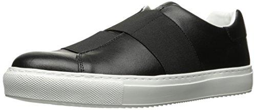 Armani Jeans Cross Strap Slip On Hombre Zapatillas Negro