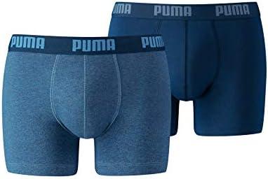 PUMA Basic Boxer, Hombre, Azul, S: Puma Bodywear: Amazon.es: Ropa ...