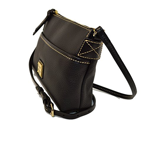 Bag Shoulder Black Pouchette Black Bourke Ginger amp; Grain Dooney Pebble xnCzS60q0w