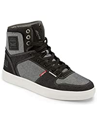Mens Mason Hi 501 Fashion Denim Hightop Sneaker Shoe