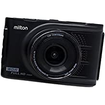 Milton HD-32 Dash Cam Car Dashboard Camera, 5MP Full HD (1080p) Car Video Camera (Car DVR, 1080 FULL HD) with Wide Angle Lense for Day and Night Recording