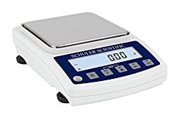 Schuler Scientific SS-2002.N NTEP S-Series Precision Balance with 2000g Capacity and 0.01g Readability, Plastics and Metals