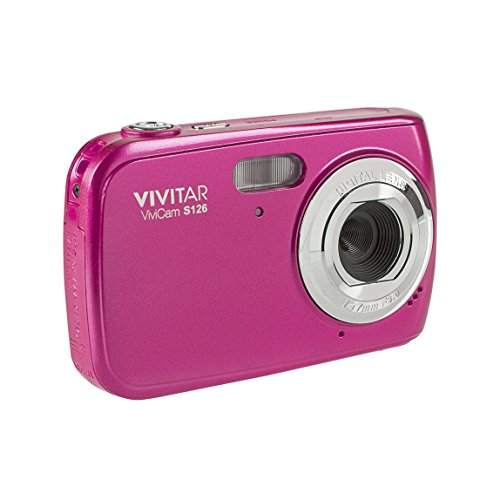 Vivitar VF128-PNK 16.1MP HD Digital Camera with 2.7-Inch LCD