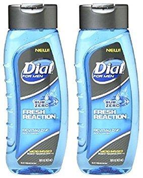 Dial for Men Body Wash Fresh Reaction, Sub Zero 16 fl oz by Dial by Dial