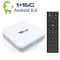 Zenoplige TX95 Android 6.0 TV BOX Amlogic S905X Quad-core Cortex-A53 1G/16G 4K Android TV BOX