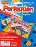 : Perfection Real Mini Game Box, Board, and Pieces Keychain by Basic Fun
