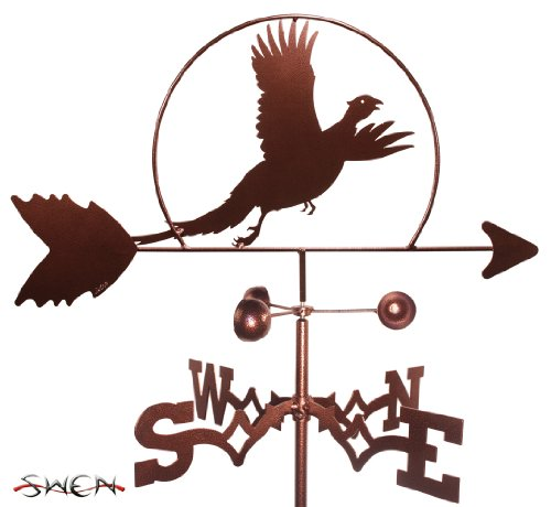 (Hand Made PHEASANT BIRD GARDEN Stake Weathervane ~NEW~ )