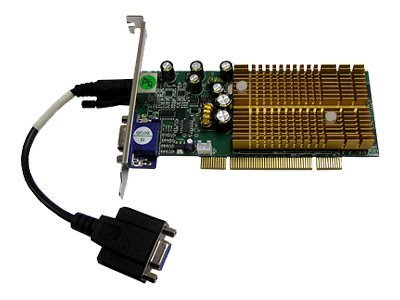 Nvidia Geforce 6200 256Mb Ddr Pci Lp Sup Dual Vga (VIDEO-338PCI-LX) -