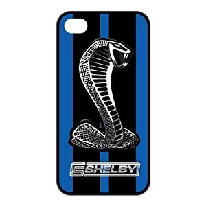 S Shelby The Cobra Snake Unique Apple Iphone 4 4S Durable Hard Plastic Case Cover CustomDIY