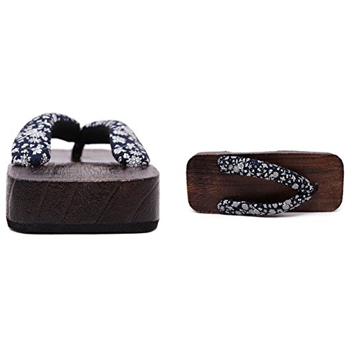 hibote Frauen Männer Holzschuh Flip Flops Schuhe #Xier H2