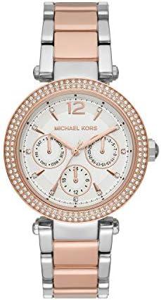 Michael Kors Women's Parker Two-Tone Stainless Steel Watch MK6301