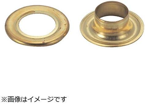 トラスコ中山/TRUSCO 両面ハトメ真鍮 10mm 20個入【P-THP-B10 (10MM20クミイリ)】(2583887) [その他]