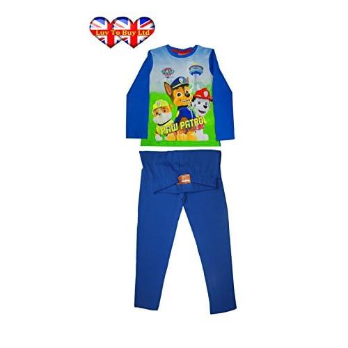 hot Pyjamas, Original/Official Paw Patrol Boys Pyjamas, Boys/Girls Nightwear Set, 4 Sizes free shipping