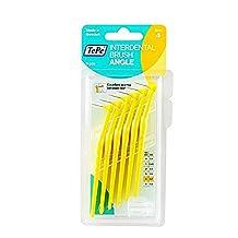 Tepe Angle Brush 0.75mm YELLOW (6 brushes per pack)