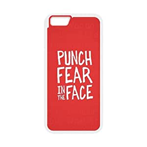 iPhone 6 4.7 Inch Cell Phone Case White Punch Fear LV7057995