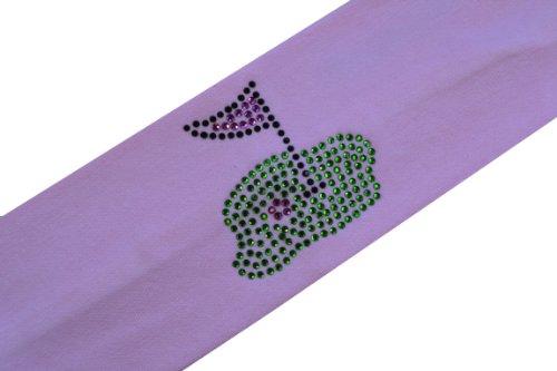 Golf Green Cotton Stretch Headband ~ Funny Girl Designs (Light Pink)