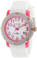 Ritmo Mundo Women's 242 Pink Carnival Quartz White Mother-Of-Pearl Dial Watch