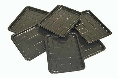 6-PACK of Utility Trays for Boot, Pet, Garden, Shoe 15.7 x 11.8 x 1.0
