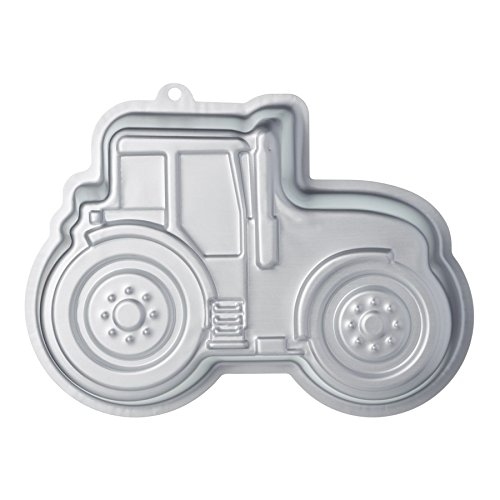 (KitchenCraft Sweetly Does It Novelty Tractor Cake Tin, 28.5 x 20 x 5.5 cm / 11