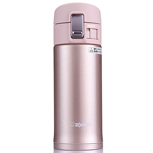 Zojirushi SM-KB36PX Stainless Steel Travel Mug, 12-Ounce/0.36-Liter, Pink Champagne by Zojirushi