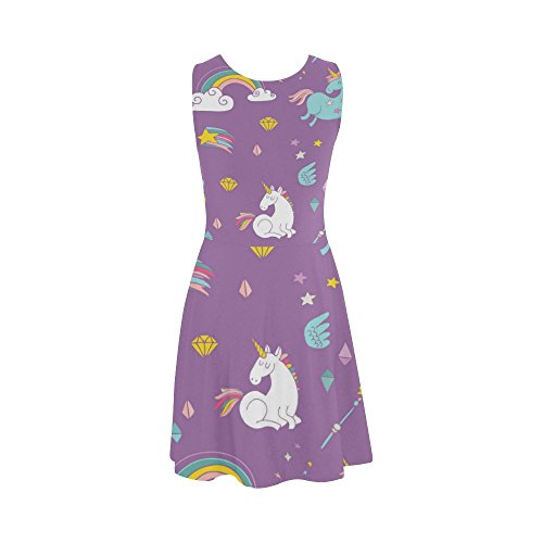 Unicorn Sundress Dress Summer Women Women Story D Dress Sleeveless qant47xAw