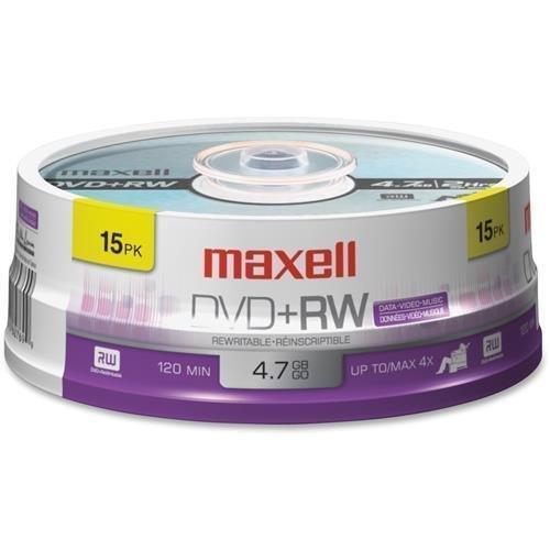 MAX634046 - Maxell 4x DVD+RW Media