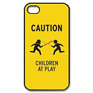 Custom Your Own Funny Children at Play iPhone 4/4S Case , personalised Children at Play Iphone 4 Cover