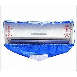 Aria condizionata Coperchio,Copertura per la pulizia dell'aria condizionata,Copertura per Condizionatori da finestra(Aggiornamento) 41iHyg671yL. SS300