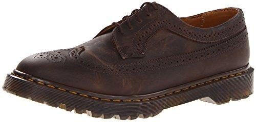 à 8 cuir pour Vintage hommes Martens Effet Marron IT Dr UK marron lacets en 3989 41 ORx4gw0