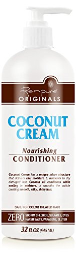 - Renpure Coconut Cream Nourishing Conditioner, 32 Ounce