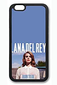 VUTTOO iPhone 6 plus Case, 6 plus Case - VUTTOO Fashion Design TPU Rubber Case for iPhone 6 plus Lana Del Rey Born To Die New Release Black Soft Case Bumper for iPhone 6 plus 5.5 Inches by Maris's Diaryby Maris's Diary