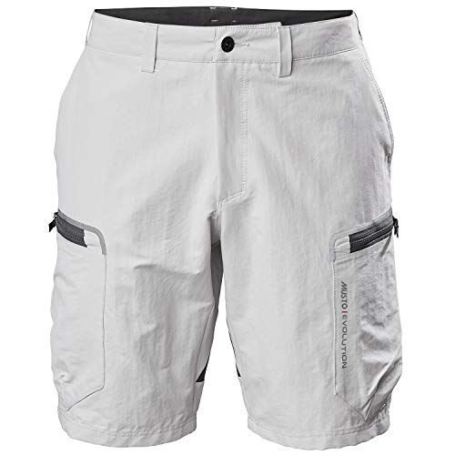 Musto Mens Evolution Performance 2.0 Sailing Boating Watersports Shorts – Platinum – Easy Stretch