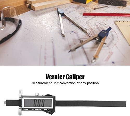 Digital Caliper, Marking Gauge Scribe Semicircle Crossed Calipers Waterproof Vernier Caliper, Pipes Circular Frames Auto Metal Sheet for Measuring Winding Pipes