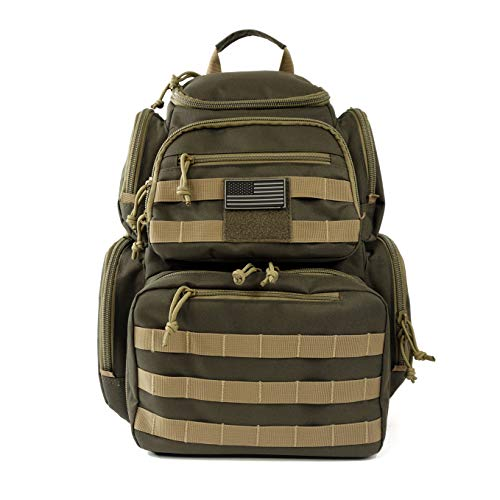 NiceAndGreat Tactical Rapid Storage & Access Gun Range Bags Backpacks and Cases