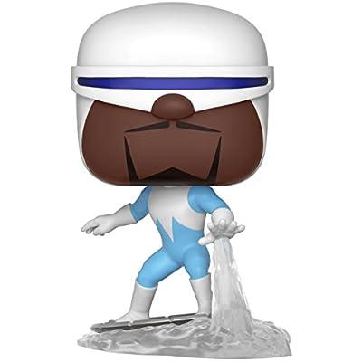 Funko Pop! Disney Pixar: Incredibles 2 - Frozone Vinyl Figure (Bundled with Pop Box Protector Case): Toys & Games